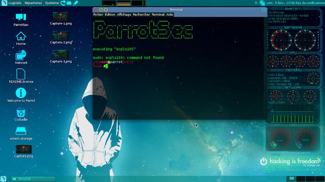 توزيعة parrot security os لإختبار الاختراق والإستخدام اليومي