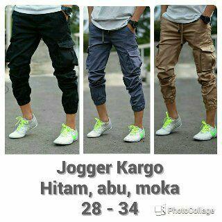 celana jogger cargo, celana jogger, celana cargo, celana jogger pria