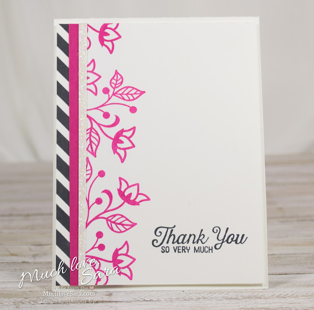 Black, White, and Mambo Thank You Card