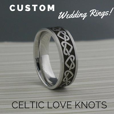 Cobalt Chrome Wedding Bands 70 Perfect Custom Celtic Heart Wedding