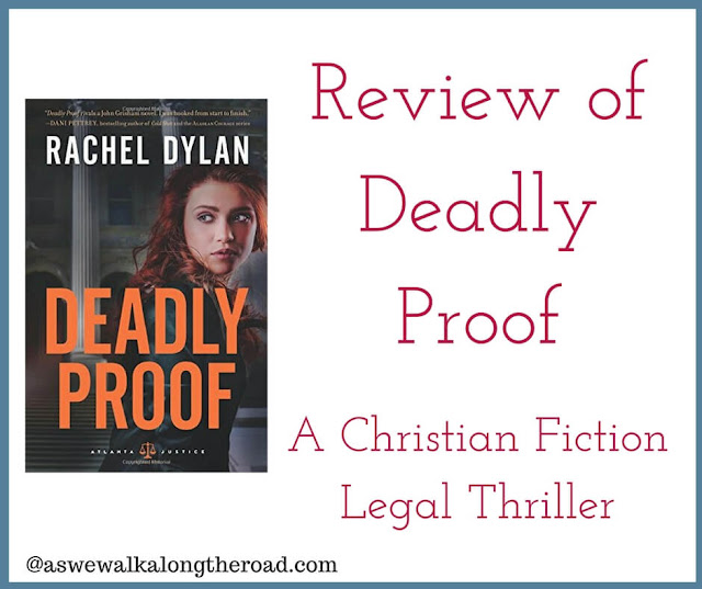 Review of Deadly Proof, a Christian fiction legal thriller
