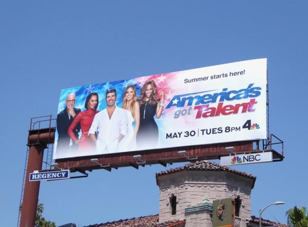 Americas Got Talent season 12 billboard