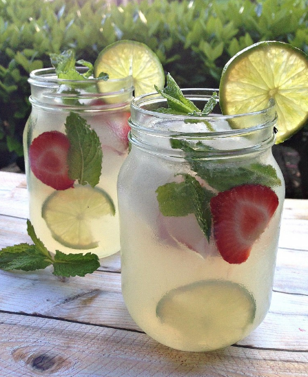 REFRESHING SUMMER VODKA MINT LEMONADE COCKTAIL
