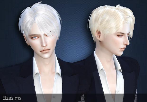 sims 4 cc's - male hair