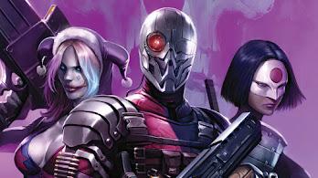 Suicide Squad, Deathstroke, Harley Quinn, Katana, 4K, #6.2023