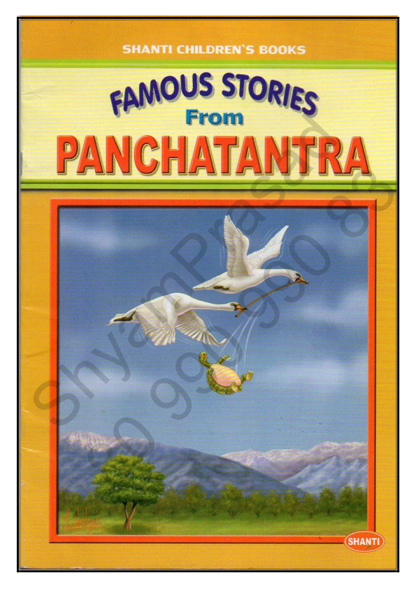 Famous Stories From PANCHATANTRA= ShyamPrasad = - A to Z world 2512