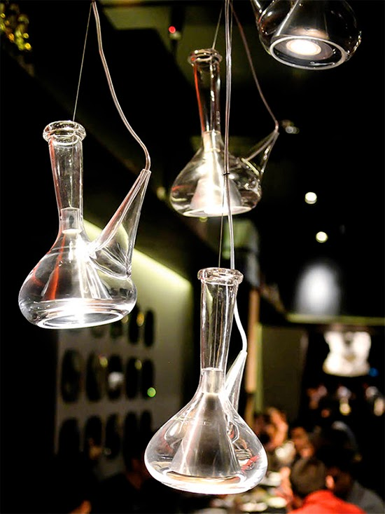 luminaria de decanter