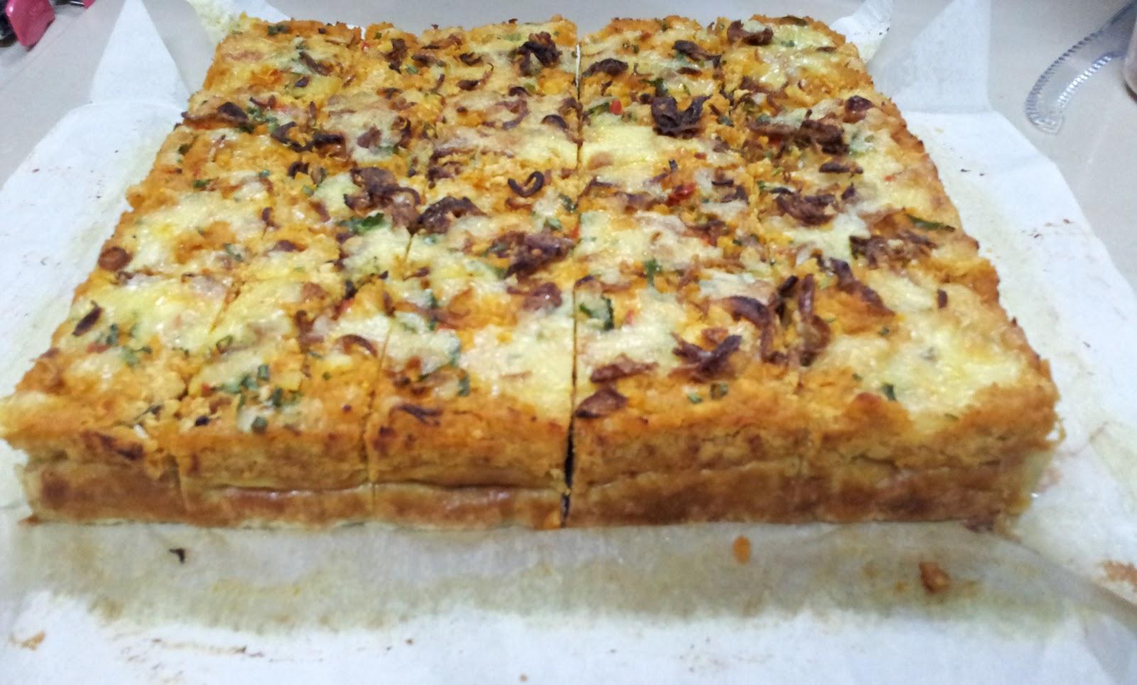 chef asma culinary academy class aneka talam part Resepi Kuih Cara Berlauk Bakar Dalam Oven Enak dan Mudah