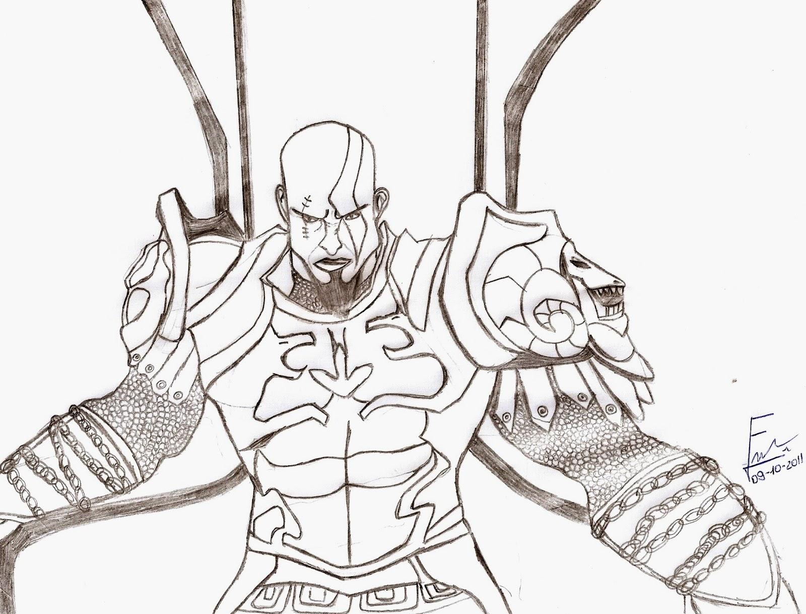Felippe De Carvalho Olindo Kratos God Of War