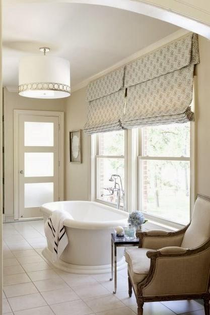 Bathroom Window Treatments - Bedroom and Bathroom Ideas