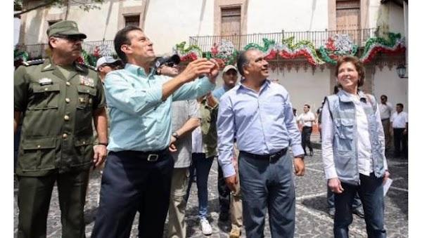 Gobernador De Guerrero Incinera Despensas Para Damnificados