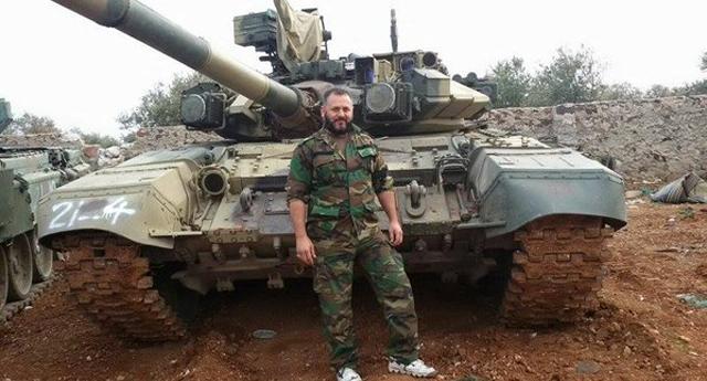Llegan a Alepo más fuerzas de élite sirias con tanques rusos T90
