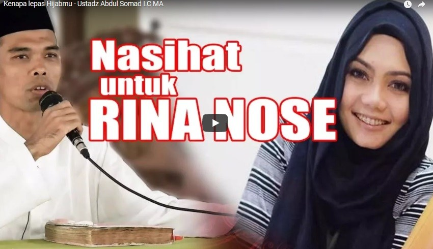 Kenapa Lepas Hijabmu – Ustadz Abdul Somad LC MA