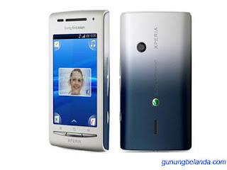 Cara Flashing Sony Ericsson Xperia X8 E15i