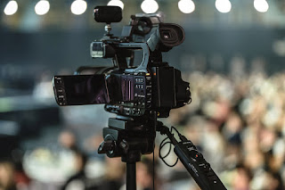 Shot of Video camera as used by video production companies in Johannebsurg