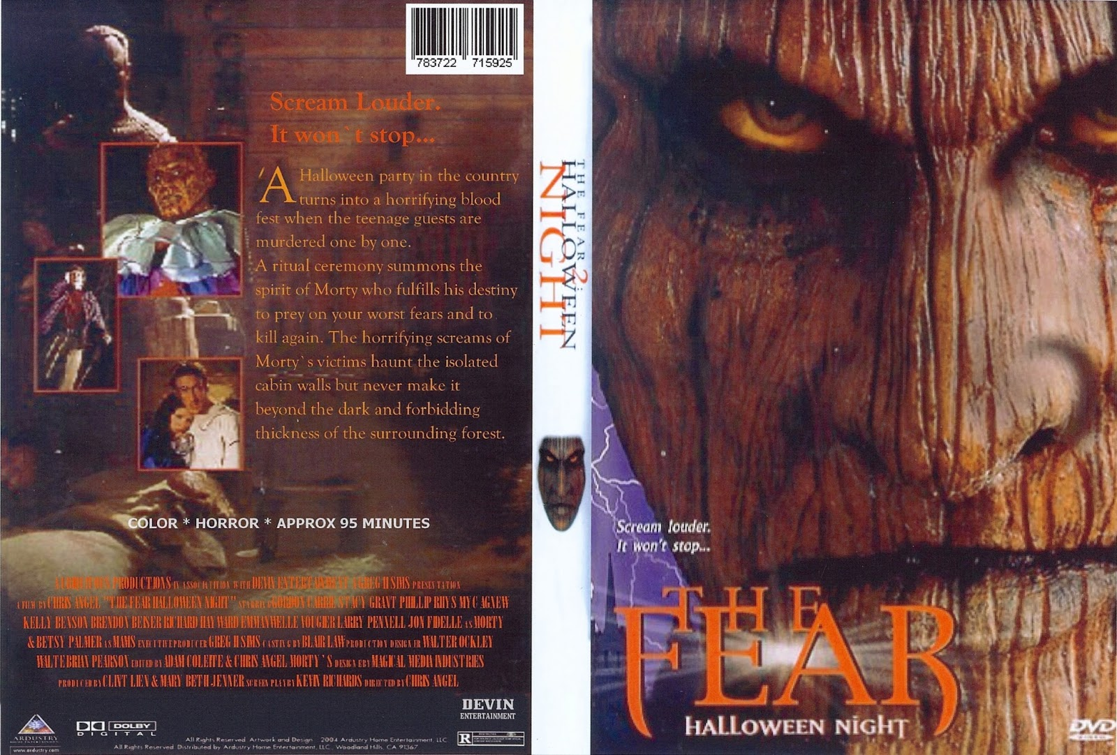 The Horrors of Halloween: THE FEAR: HALLOWEEN NIGHT (1999) VHS and ...