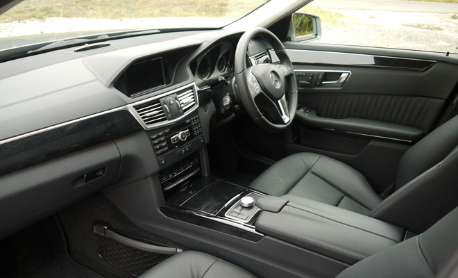Mercedes-Benz E300 BlueTec Hybrid interior