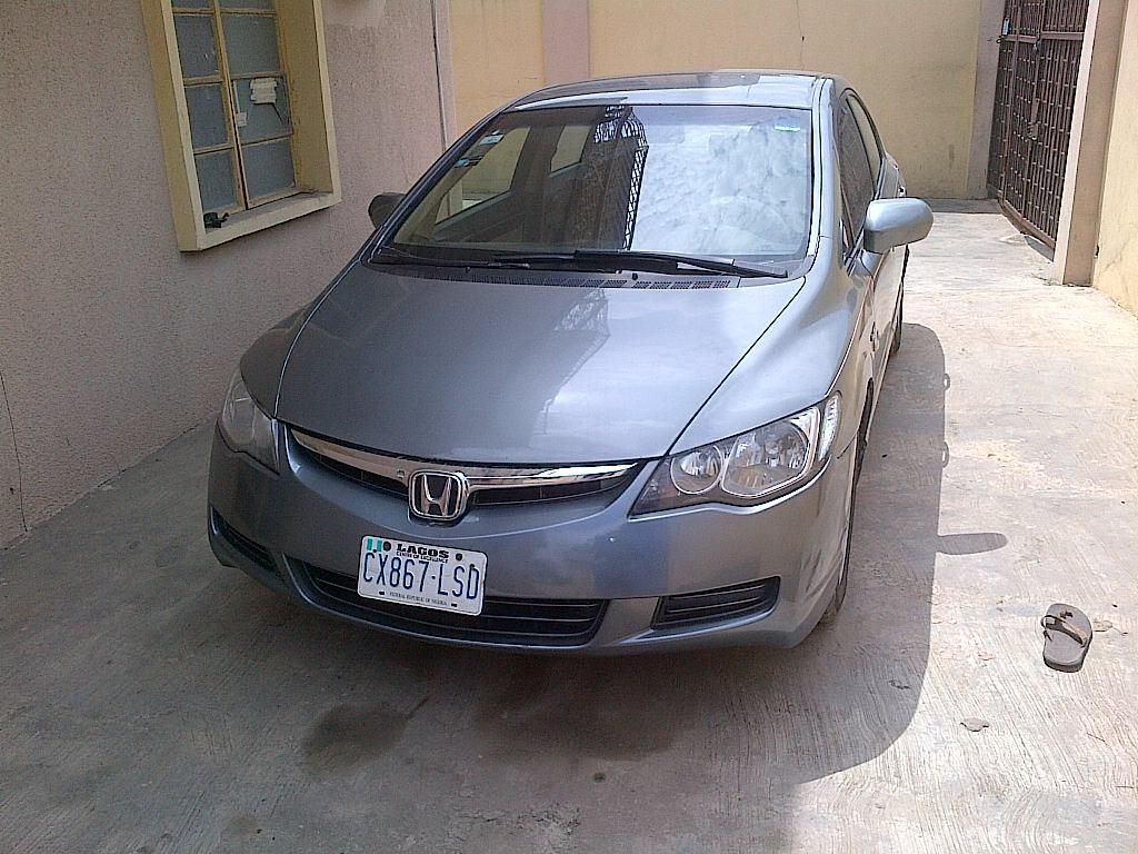 SUPER NEAT NON-ACCIDENTAL, 1ST BODY HONDA CIVIC (NIGERIA USE) FOR ...