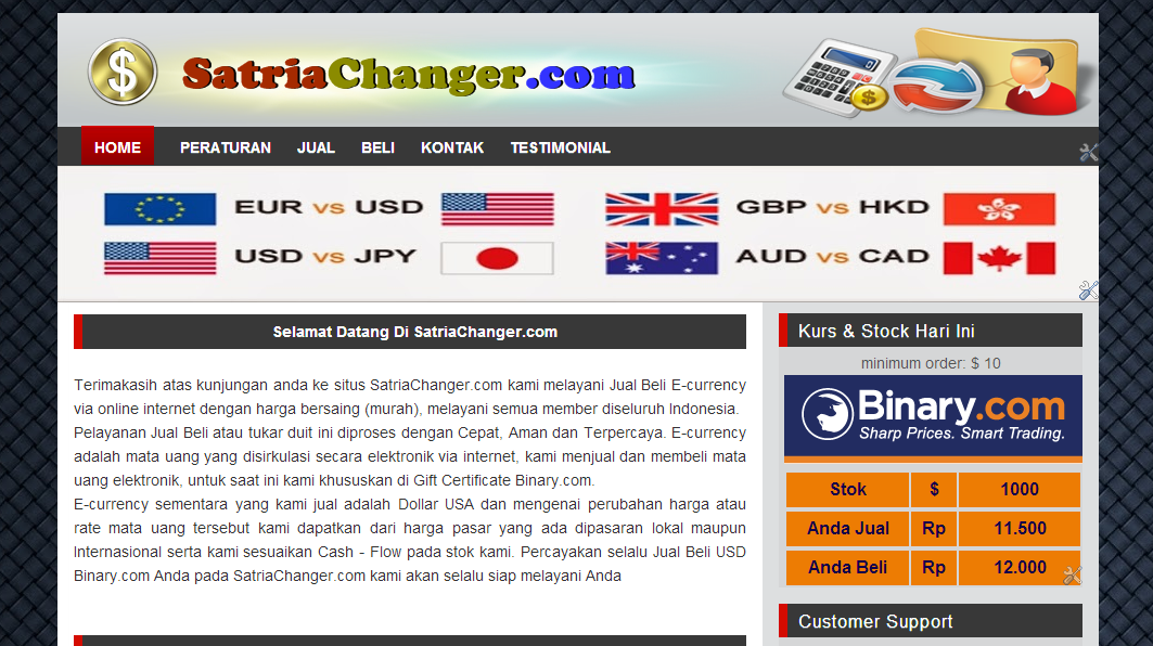 Deposit Binary.com - AYO PROFIT