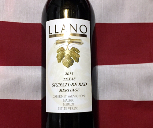 Llano Estacado Signature Red 2015