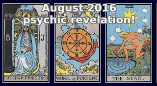 August 2016 psychic revelation Libra to Pisces