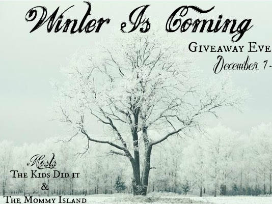 Winter is Coming with a Periwinkle's Journey Prize Pack Giveaway {A Giveaway Hop Event} #HolidayGiftGuide