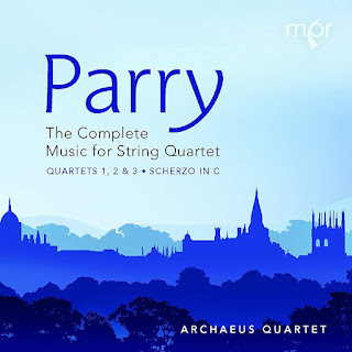 Hubert Parry - Complete Music for String Quartet - Archaeus Quartet