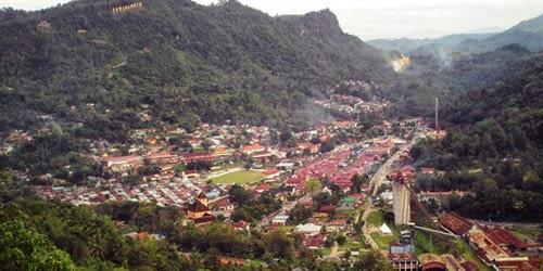 Keindahan Bukit Polan Sawahlunto