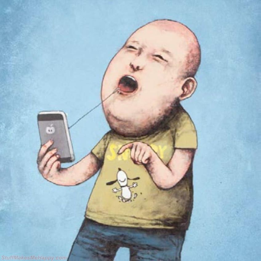 Illustrations from A Street Artist Who Is Not Afraid To Express His Opinion About Modern Society