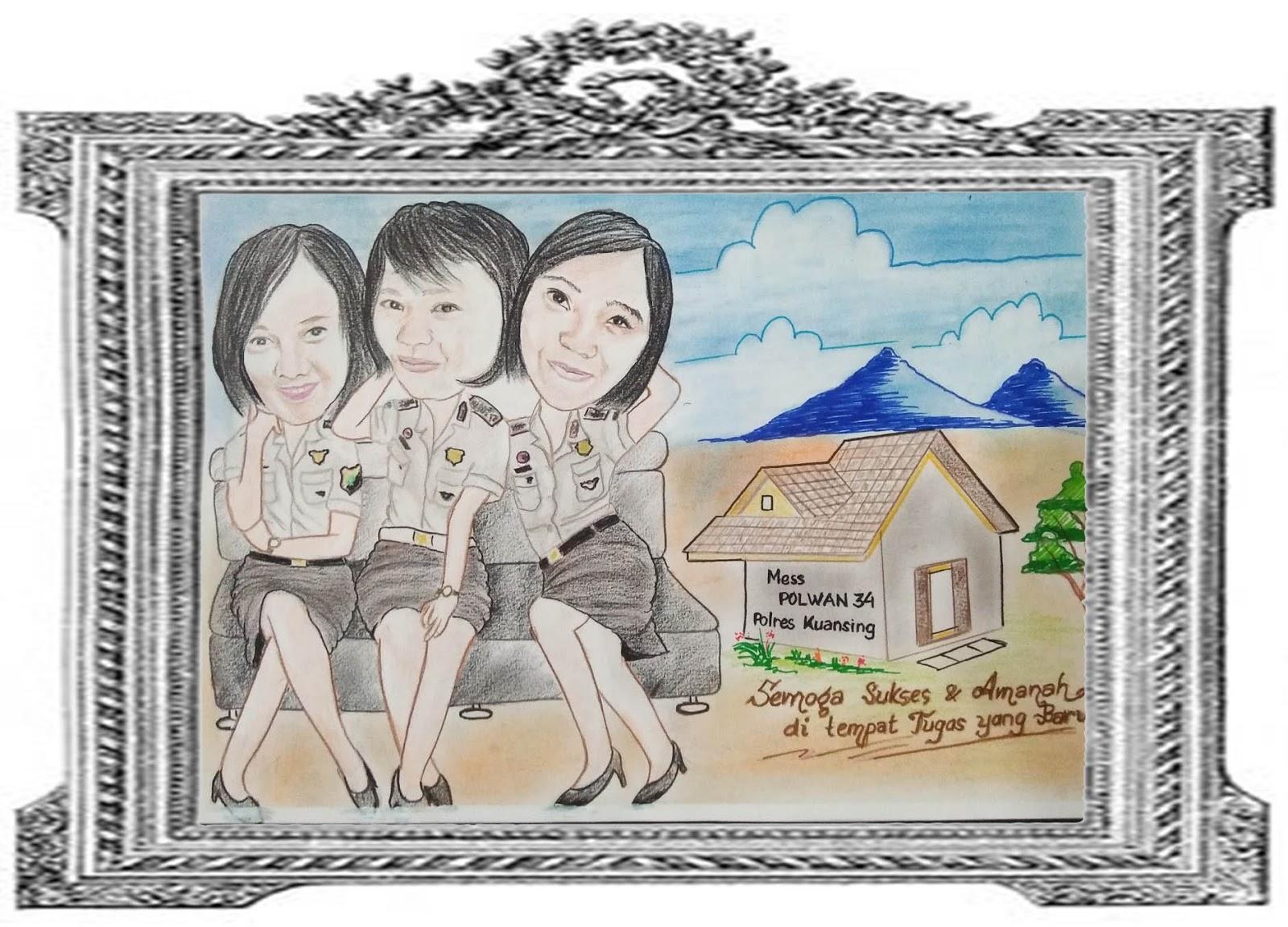 Seniman Pelukis Medan Sumatera Utara Di Gaperta Medan ART