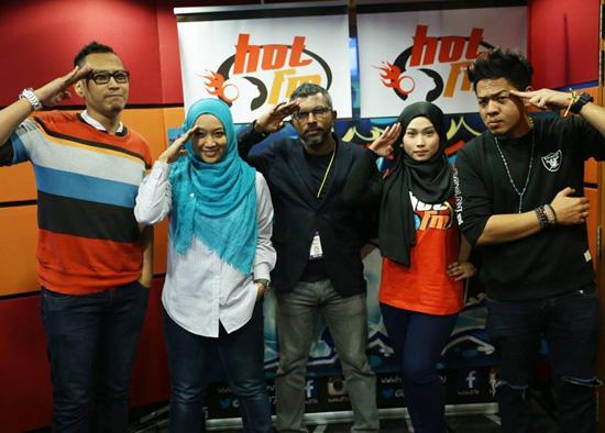 AG, Farah Fauzana, Ikhwan dan Liza Tinggalkan Hot FM