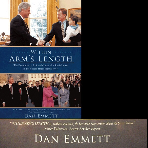 "THE best book EVER written on the Secret Service is available NOW: ""Within Arm's Length"""
