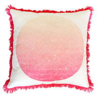 Bloom Print Cushion from the Indian Summer collection
