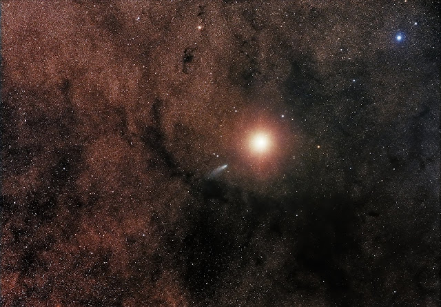 mars and comet