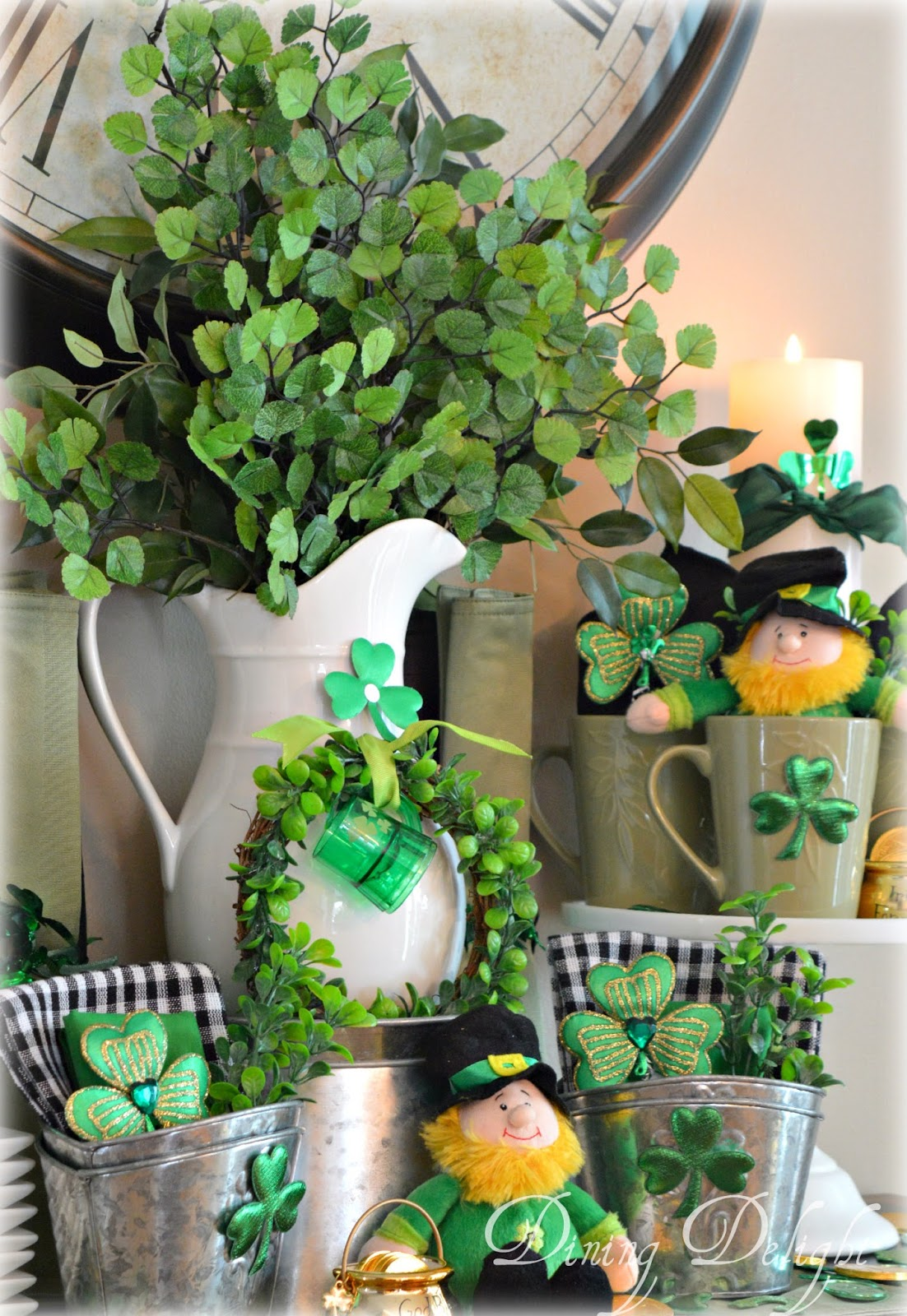 Dining delight st patrick 39 s day kitchen display for St patricks day decorations for the home