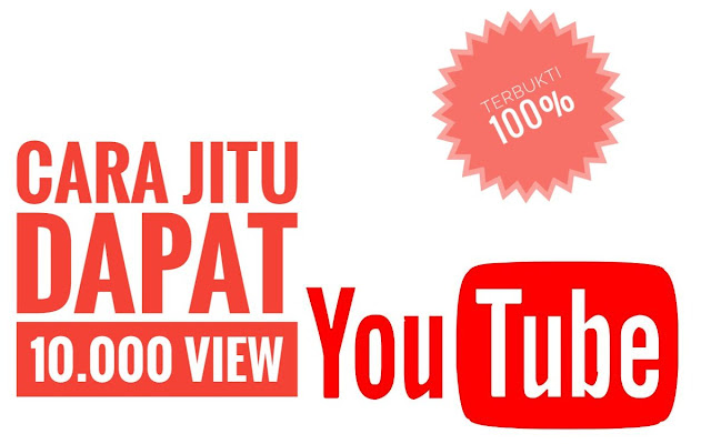 cara jitu nambah view youtube