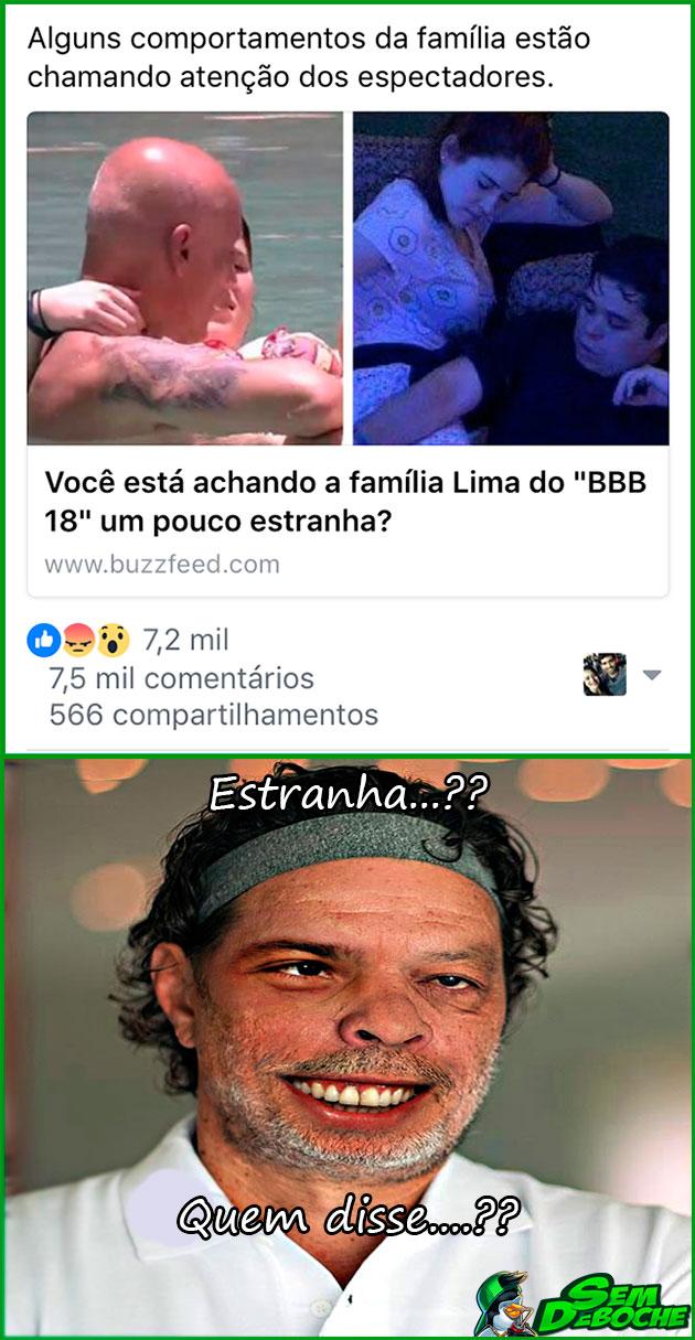 O PESSOAL TÁ ACHANDO O BBB18 MEIO ESQUISITO