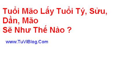 Tuoi Mao Lay tuoi Ty Suu Dan Mao