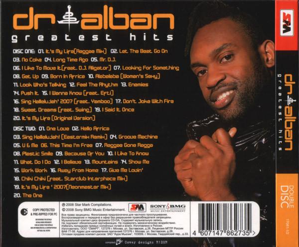 Euro Singles 90   Dr  Alban  U200e U2013 Greatest Hits  17081 2