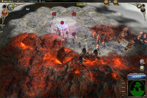 Screen Shot Of Warlock Master of the Arcane (2012) Full PC Game Free Download At worldfree4u.com