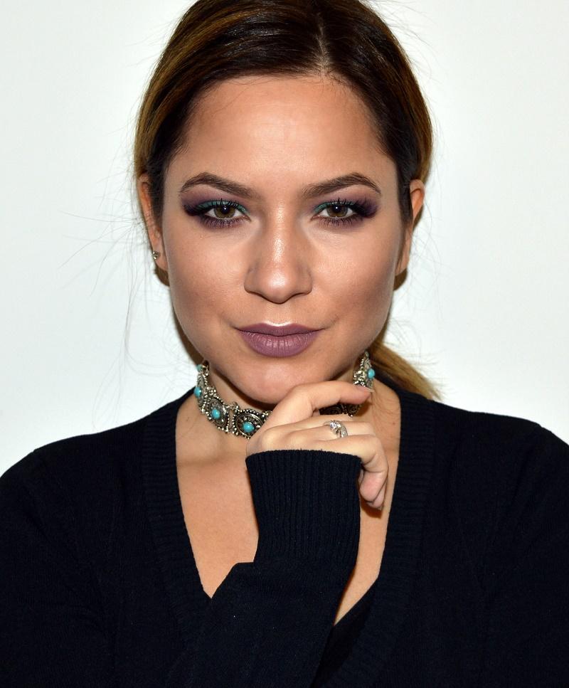 green and purple eyeshadow makeup sephora