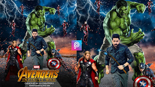 PICSART AVENGERS MOVIE POSTER EDITING| AVENGERS INFINITY WAR | MOVIE POSTER BACKGROUND