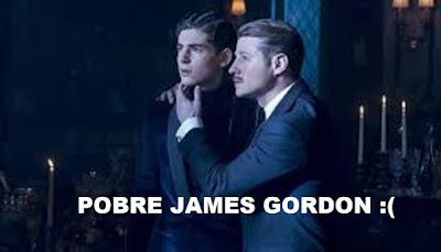 Buce y James Gordon-Gotham 5x10