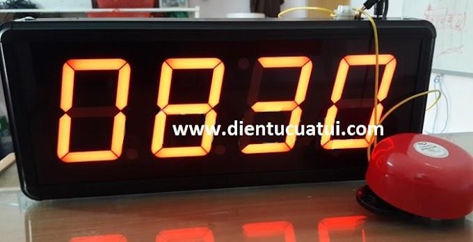 Đồng hồ báo giờ tan ca làm việc