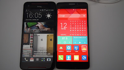 alcatel one touch idol x vs htc butterfly s