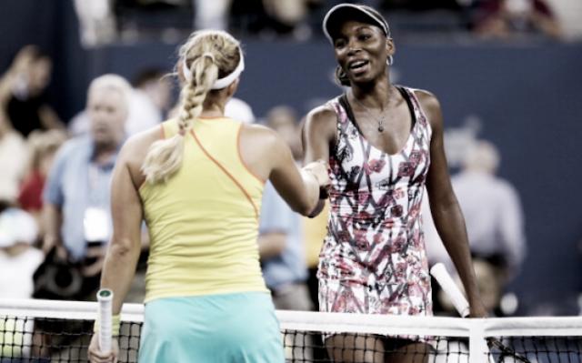 Mira como las tenistas Venus Williams y Svetlana Kuznetsova fueron sorprendidas