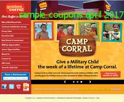free Golden Corral coupons for april 2017