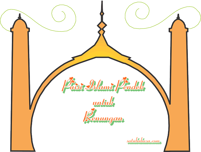 puisi islami pendek untuk renungan