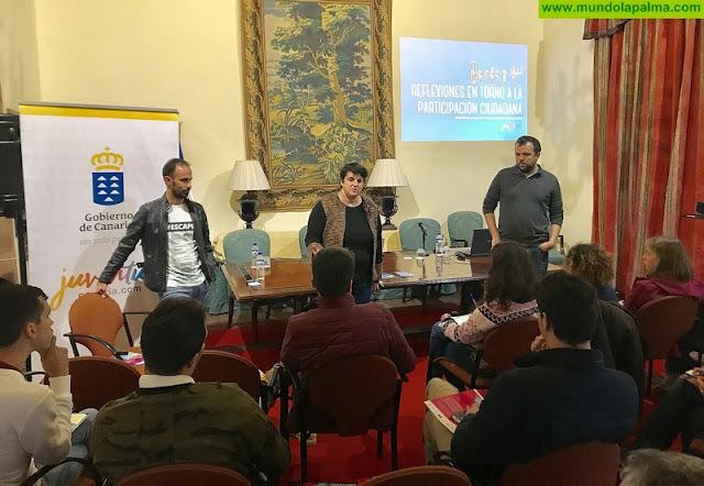 La Palma acoge el primer encuentro insular para la formación de técnicos de Juventud sobre Erasmus+ y participación juvenil