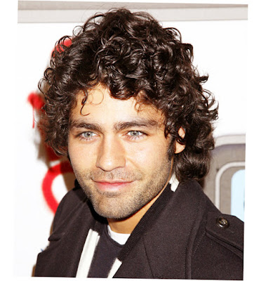Mens Long Surfer Hairstyles Curly Black Color